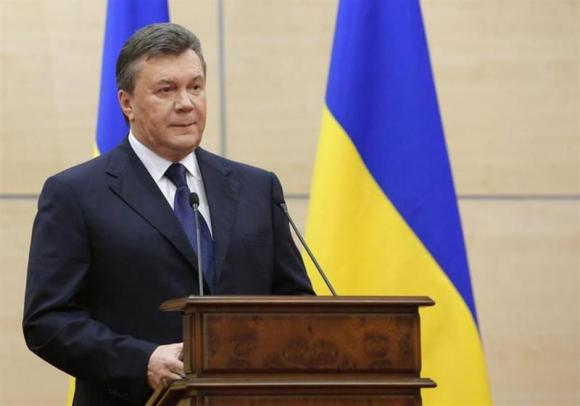 Viktor Yanukovich, wanted by Ukraine