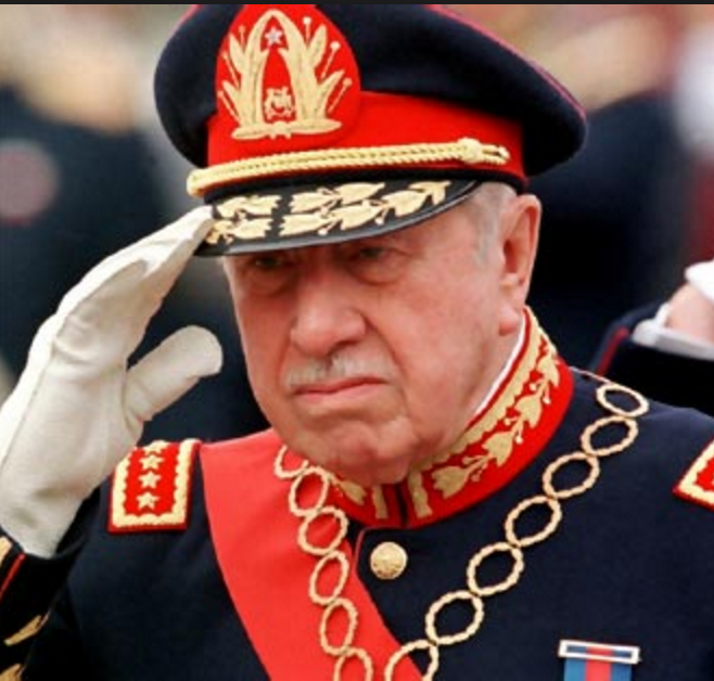 Augusto Pinochet, wanted by Spain