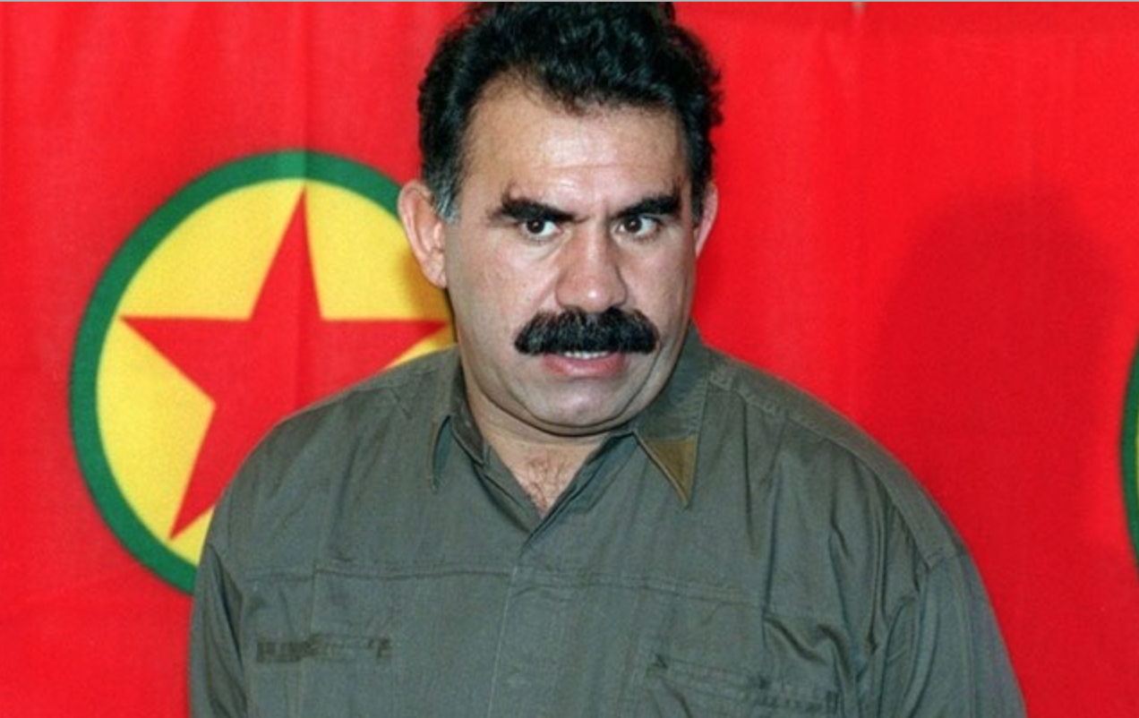 Abdullah Öcalan, wanted by Turkey