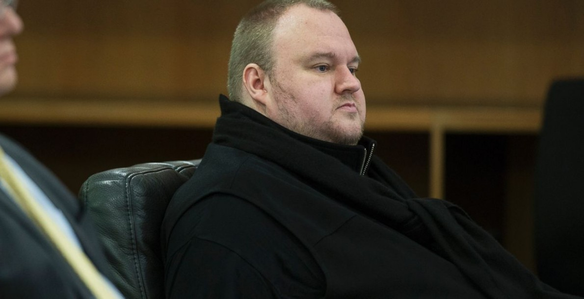 Kim Dotcom, wanted by the USA